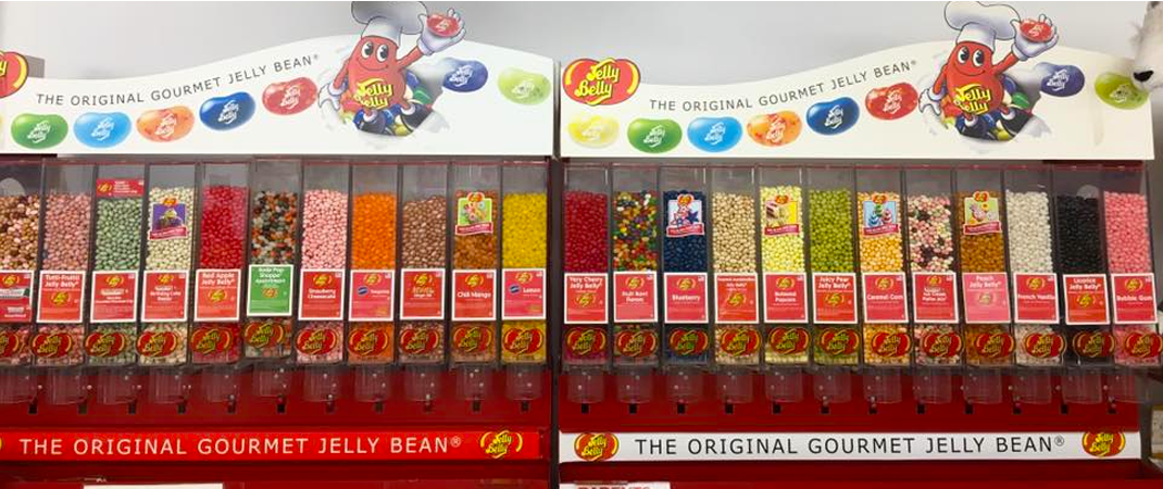 4 Jelly Beans